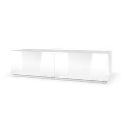 Szafka RTV Castelo 160 cm stojąca biała