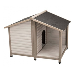 TRIXIE Hundehütte Lodge S: 100×82×90 cm