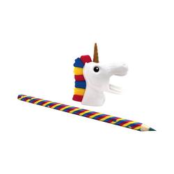 MAGS Bleistift Bleistift & Spitzer Regenbogen Einhorn