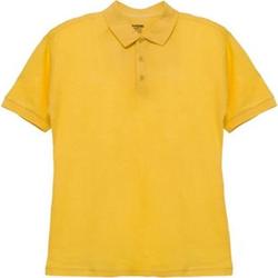 Herren-Poloshirt Gelb L