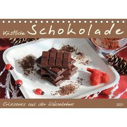 Schokolade - aus der Kakaobohne (Tischkalender 2021 DIN A5 quer)