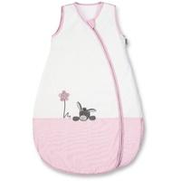 STERNTALER Sommerschlafsack Emmi Girl weiß-rosa / Esel, 90