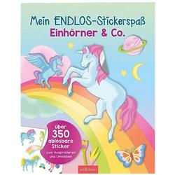 Mein Endlos-Stickerspaß Einhörner & Co