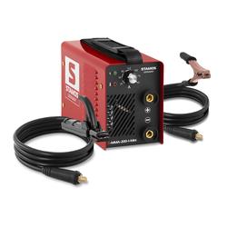 Stamos Basic Elektroden Schweißgerät - 200 A - Hot Start - 60 % Einschaltdauer S-MMA-200-I-Mini