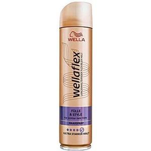 WELLA Wellaflex Haarspray Fülle & style ultra starker Halt, 4er Pack (4 x 250ml)