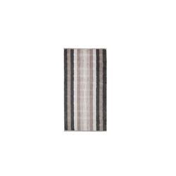 Cawö Handtuch Noblesse Interior Streifen in stein, 50 x 100 cm