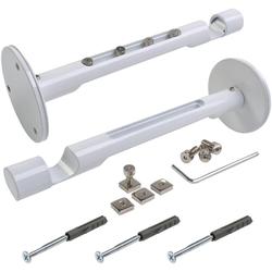 Kombiträger, Liedeco, Gardinenschienen, Gardinenstangen, (1-St), für Flächenvorhangschiene und Gardinenstangen Ø 20 mm weiß