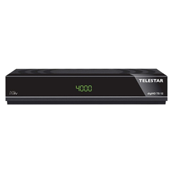 TELESTAR digiHD TS 12 HDTV-Satelliten Receiver (DVB-S, DVB-S2, PVR Ready, HDMI, Scart, USB) SAT-Receiver
