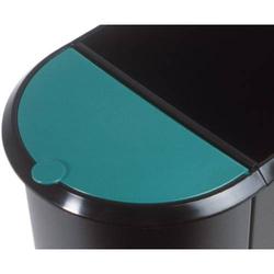 Deckel für Duo-Papierkorb grün