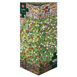 HEYE Puzzle HEYE 29072 Mordillo Crazy World Cup 4000 Teile Puzzle, 4000 Puzzleteile