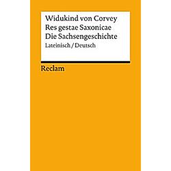 Res gestae Saxonicae. Widukind von Corvey  - Buch