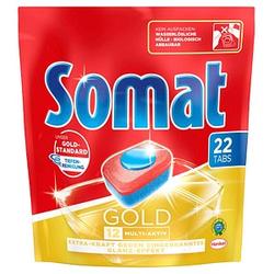 Somat GOLD 12 MULTI-AKTIV Spülmaschinentabs 22 St.