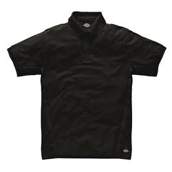 Dickies Poloshirt 100 % Baumwolle schwarz S