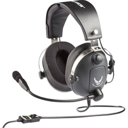 Thrustmaster Gaming Headset 3.5mm Klinke schnurgebunden Over Ear Grau, Metallic