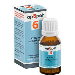 APOPET Schüßler-Salz Nr.6 Kalium sulf.D 6 vet.
