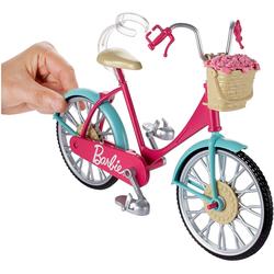 Mattel Barbie Fahrradzubehör für Puppen mit Helm und Zubehör