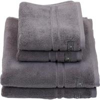 GANT Premium Handtuch (2x50x100cm) stone grey