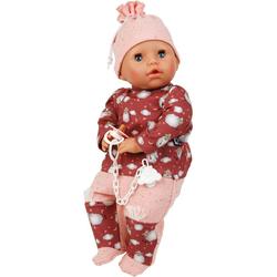 Schildkröt Manufaktur Babypuppe Amy, rot/rose, Made in Germany