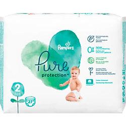 Pampers Windeln Pure Protection Mini Size 2 25 x 11,2 x 19,4 cm 27 Stück