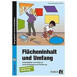 Flächeninhalt und Umfang  m. 1 CD-ROM. Andreas Marschall  Laura Petry  - Buch