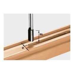 Festool Nutfräser HW Schaft 12 mm HW S12 D16/45
