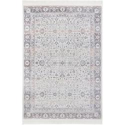 Teppich Modern Belutsch, NOURISTAN, rechteckig, Höhe 5 mm grau 195 cm x 300 cm x 5 mm
