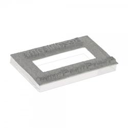 Textplatte für Colop Expert Line 3960 Doppeldatum (106x55 mm - 11