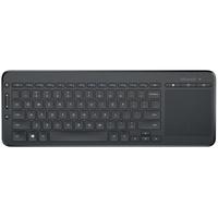 Microsoft All-in-One Media Keyboard DE schwarz (N9Z-00008)
