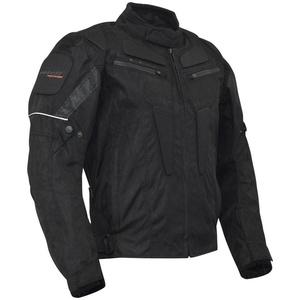 ROLEFF Motorradjacke RIGA schwarz