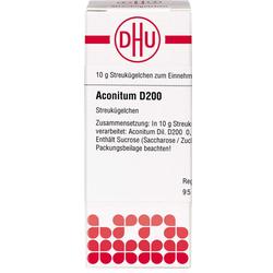 ACONITUM D 200 Globuli 10 g