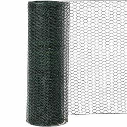 SIENA GARDEN Sechseckgeflecht PVC-grün M: 13 / H:1000 mm / L: 25 m