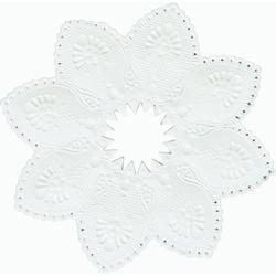 Duni Kerzenmanschetten, weiß - 5x100 Stück