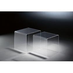 Places of Style Beistelltisch Remus, aus Acrylglas weiß