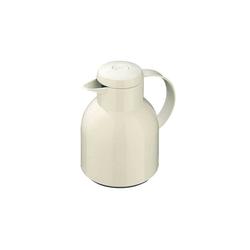 Emsa Isolierkanne Isolierkanne Samba, 1 l, Isolierkanne weiß