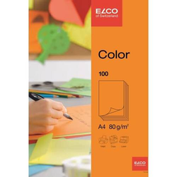 Büropapier A4 210x297mm orange Papier 80 g/qm VE=100 Blatt