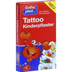 Tattoo Kinderpflaster 25x57mm