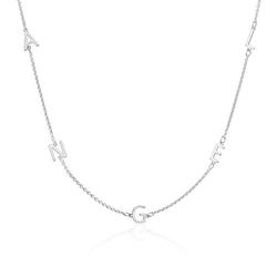 Individualisierbare Namenskette aus 925er Silber