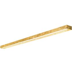 Zero LED Wand- und Deckenleuchte Modell 2 goldblatt