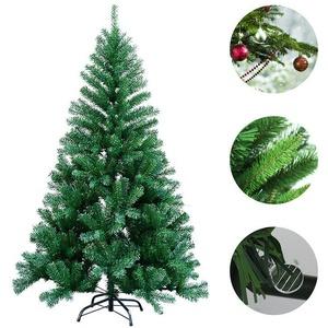Weihnachtsbaum Tannenbaum 120-210cm PVC mit Ständer Baum Christbaum 120cm-210cm