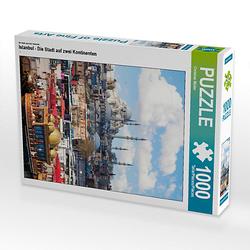 Istanbul - Die Stadt auf zwei Kontinenten Lege-Größe 48 x 64 cm Foto-Puzzle Bild von Christian Müller Puzzle