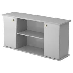 KAPA SB | Sideboard | mit Türen - Grau mit Knauf Sideboard