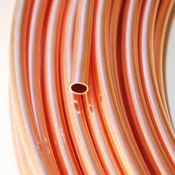 Kupferrohr 6 x 1,0 mm - 50 m Ring