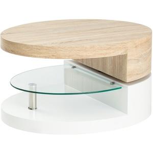 Couchtisch oval drehbar ¦ mehrfarbig » Möbel Kraft