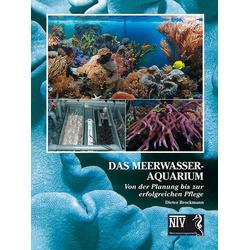 Das Meerwasseraquarium als Buch von Dieter Brockmann
