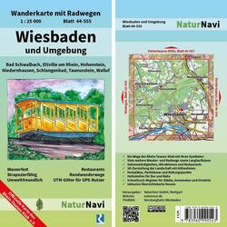 Wiesbaden und Umgebung 1 : 25 000