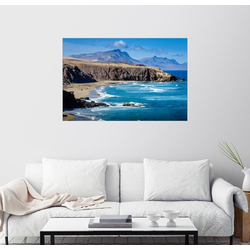 Posterlounge Wandbild, Fuerteventura - La Pared 130 cm x 90 cm