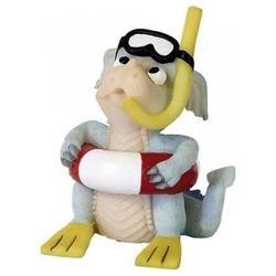 Funny Dragon Dekofigur Dekofigur Funny Dragon Lustiger Drache Sharky Höhe 8,5 cm Kunststoff