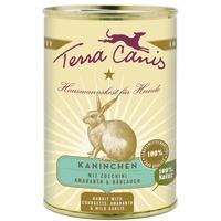 Terra Canis Kaninchen mit Zucchini, Amaranth und Bärlauch 6 x 800 g