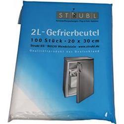Strubl 2L-Gefrierbeutel 100 Stück