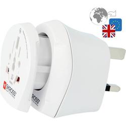 Skross 1.500231-E Reiseadapter CO W to UK2